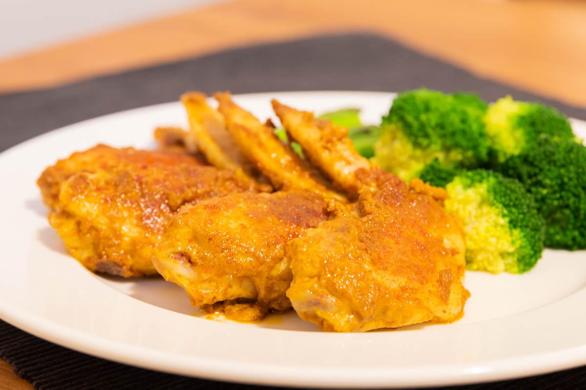 タンドリーチキン 鶏肉 手羽先 カレー粉