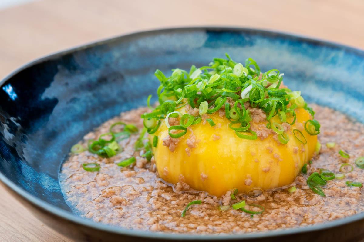 黄カブ 三浦野菜 そぼろあんかけ ひき肉