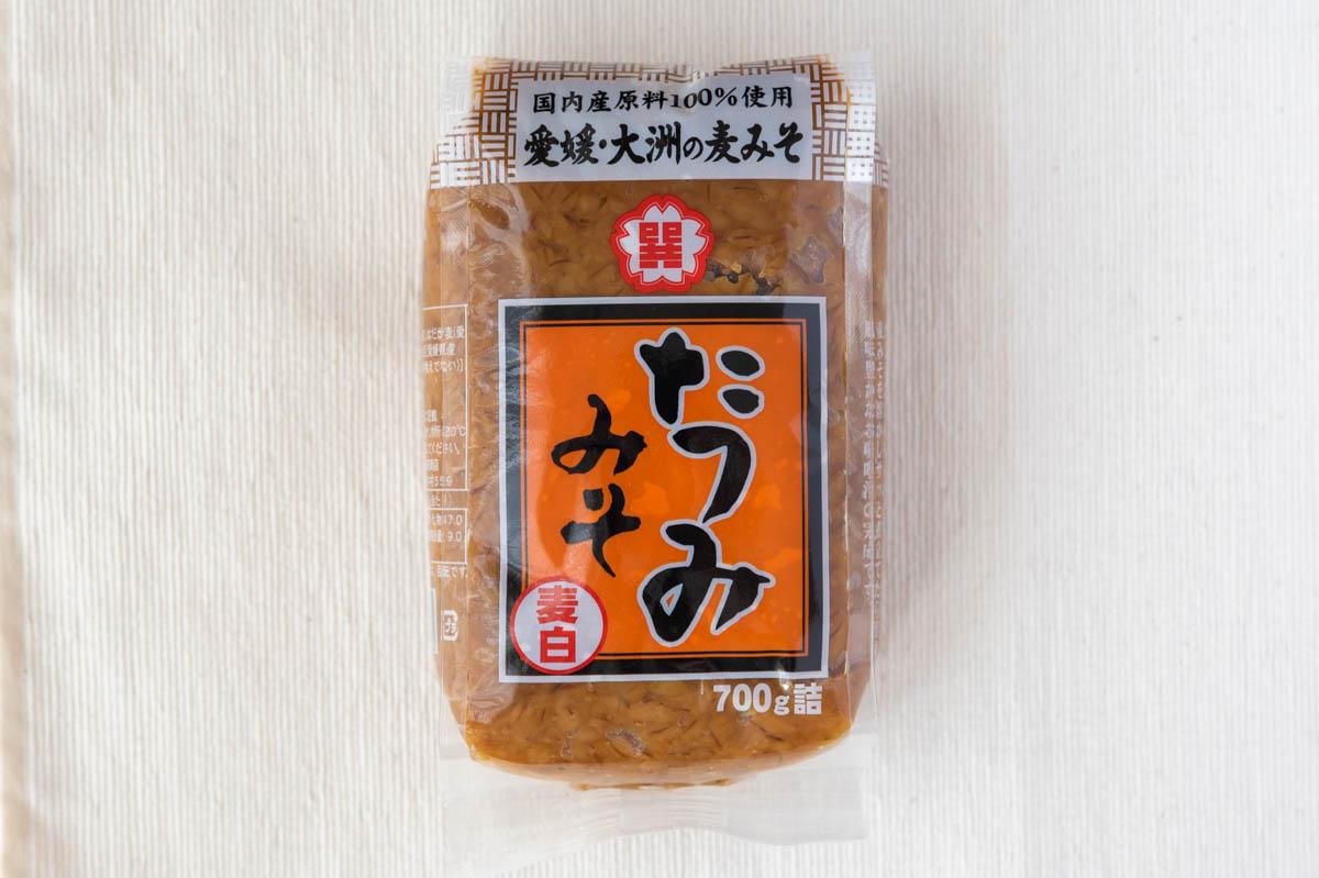 梶田商店 麦みそ たつみ麦みそ 大洲市