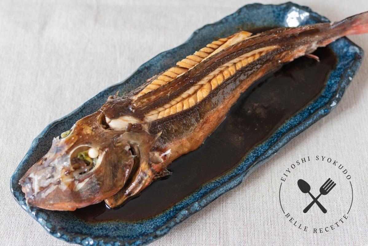 ほうぼう 魚の煮付け 煮付け