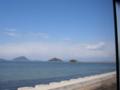 三野津湾と津嶋神社