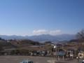 勝沼ぶどう郷(駅外から)の眺め