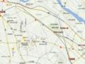 相老〜赤城 周辺地図