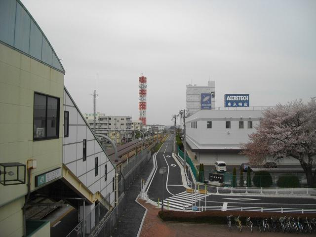 北八王子駅東口から東京精密など