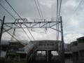 菅野駅と外郭環状道路