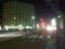市内線のカーブと新川交差点