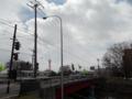 亀田川と昭和橋