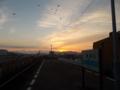 日の出@栗林駅(2)