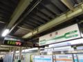 新津駅駅名標