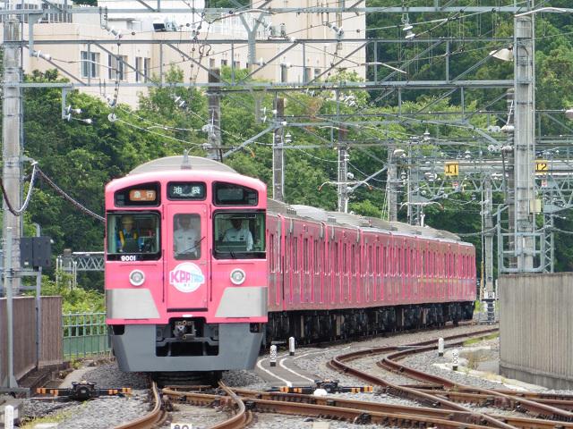SEIBU KPP TRAIN@武蔵丘車両検修場