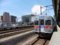 デハ7000系@弘前駅