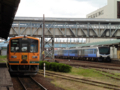 津軽五所川原駅ホーム(南側)