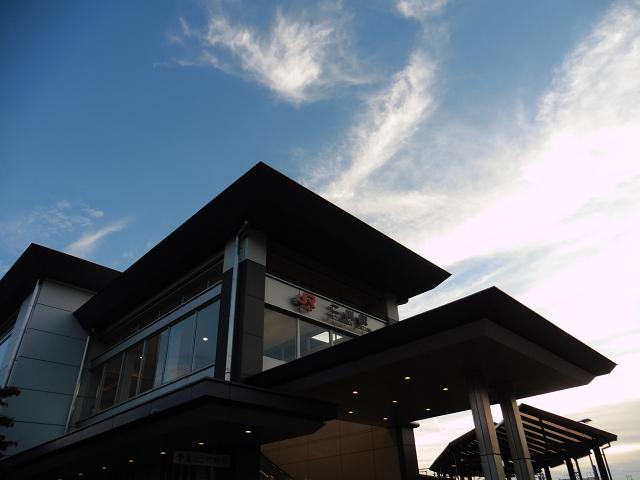 二川駅外観