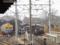 雪中の大胡電車庫