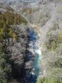 梁川大橋からの眺め
