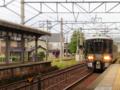 あいの風とやま鉄道521系@森本駅