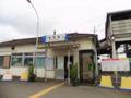安塚駅外観