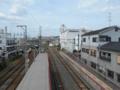 黄檗駅ホーム