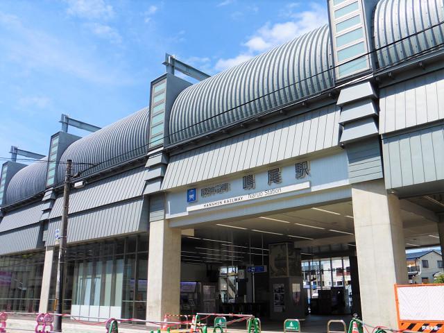 鳴尾駅外観