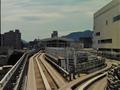 住吉駅付近(神戸新交通)