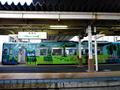 西若松駅ホーム(会津鉄道)