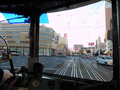 はりまや橋交差点(デンテツターミナルビル前→はりまや橋)