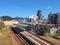 跨線橋から見た鳴門駅