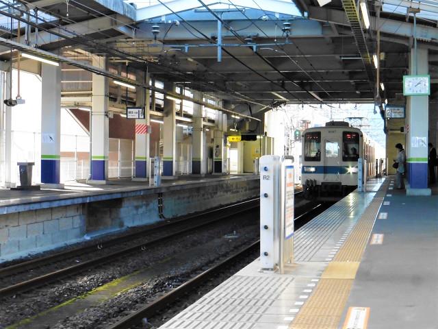 武州長瀬駅2番線