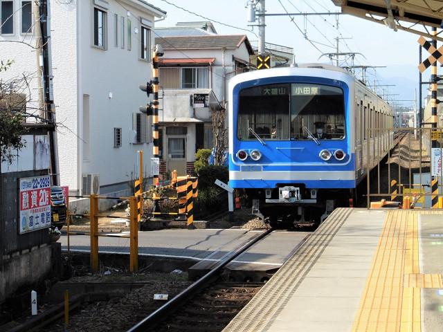 飯田岡駅外観