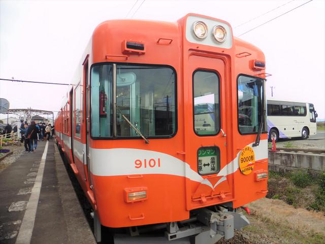 9000形@岳南江尾駅