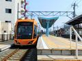 新田塚駅ホーム