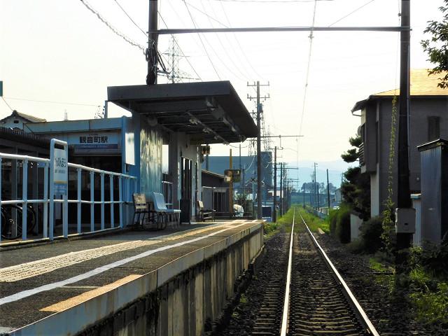 観音町駅外観