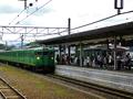 貴生川駅ホーム(草津方面・信楽高原鐵道)