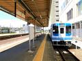 津駅1番線(伊勢鉄道ホーム)