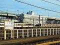 名古屋車両区の眺め@米野駅