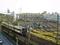 ささしまライブ駅ペデストリアンデッキからの眺め