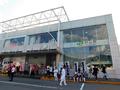 村山駅外観(東口)