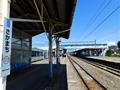 坂町駅ホーム