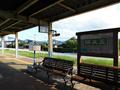 五泉駅3番線