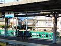 膳所駅ホーム