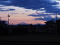 富士山遠望(南羽生~羽生)