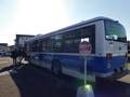 列車代行バス(静内行き)