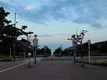 女川駅前からの眺め