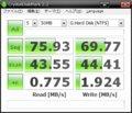 CrystalDiskMark (7K160 HDS721680PLAT80)