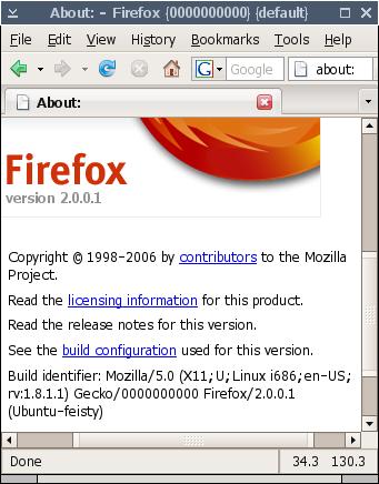 MemoryInfo, Firefox, Ubuntu Linux (feisty)