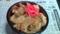 チキンカツ丼(イカリング入り)