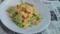 キャベツとたまごのゆず胡椒風味炒め