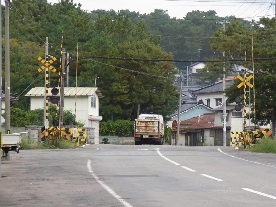 酒田港線・第一新町踏切