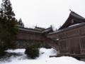 [遊佐][神社]鳥海山大物忌神社 吹浦口之宮 拝殿と本殿