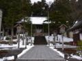 [遊佐][神社]鳥海山大物忌神社 吹浦口之宮 下拝殿